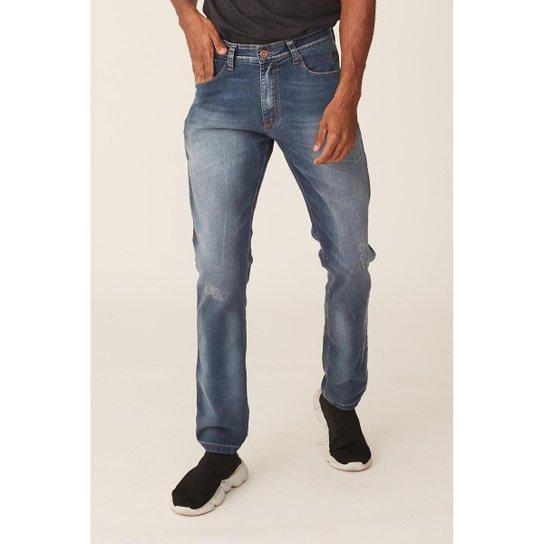 Calça Jeans Ecko Slim Confort Masculino - Azul