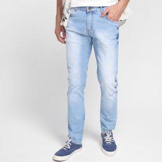 Calça Jeans Ecxo Cintura Média Masculina