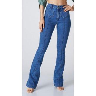 Calça Jeans Express Hot Flare Power Feminina