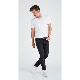 Calça Jeans Express Slim Fabricio Preto