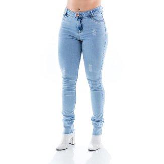 Calça Jeans Feminina Arauto Modelagem Skinny