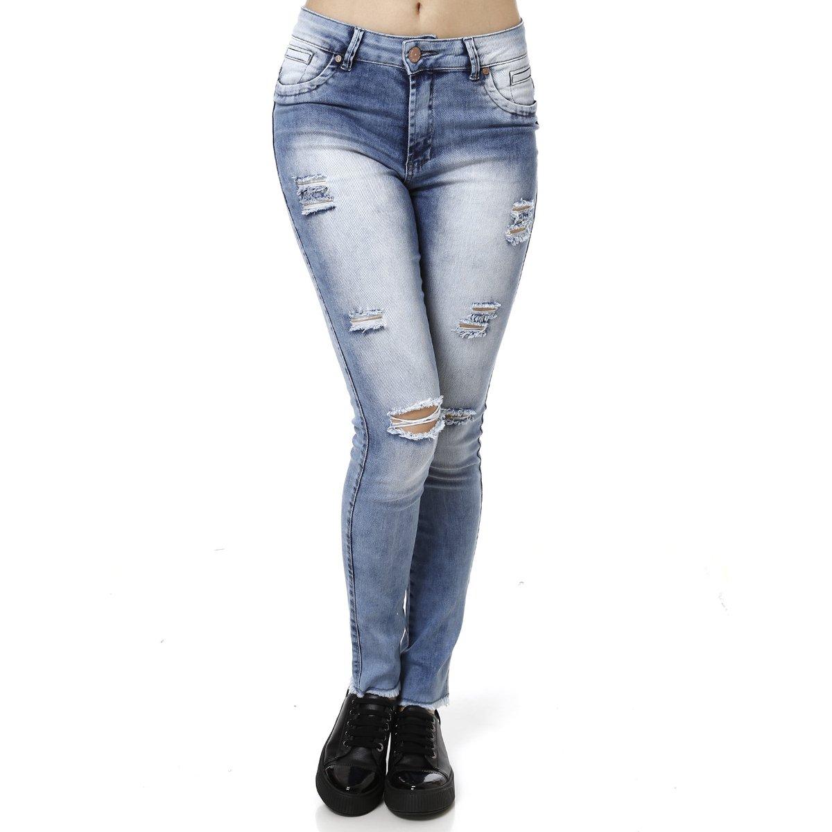 55bef9480 Calça Jeans Feminina Bivik | Netshoes
