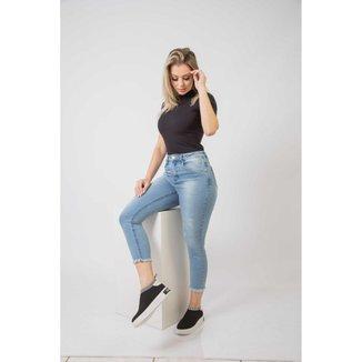 Calca Jeans Feminina Cigarreti  2111.2111