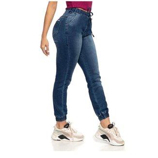 Calça Jeans Feminina Jogger Cintura Media Biotipo