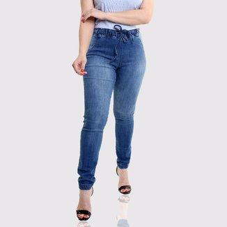 Calça Jeans Feminina Jogger Organza Malú com Elastano Z
