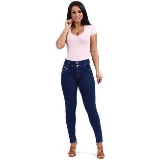 Calça jeans feminina modela bumbum - 268087 44