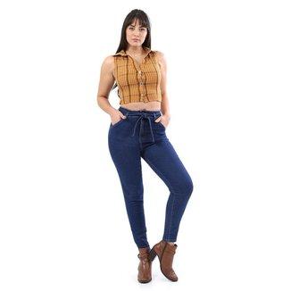 Calça jeans feminina mom - 268093 42