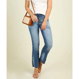 Calça Jeans Feminina Reta Marisa - 10046453457