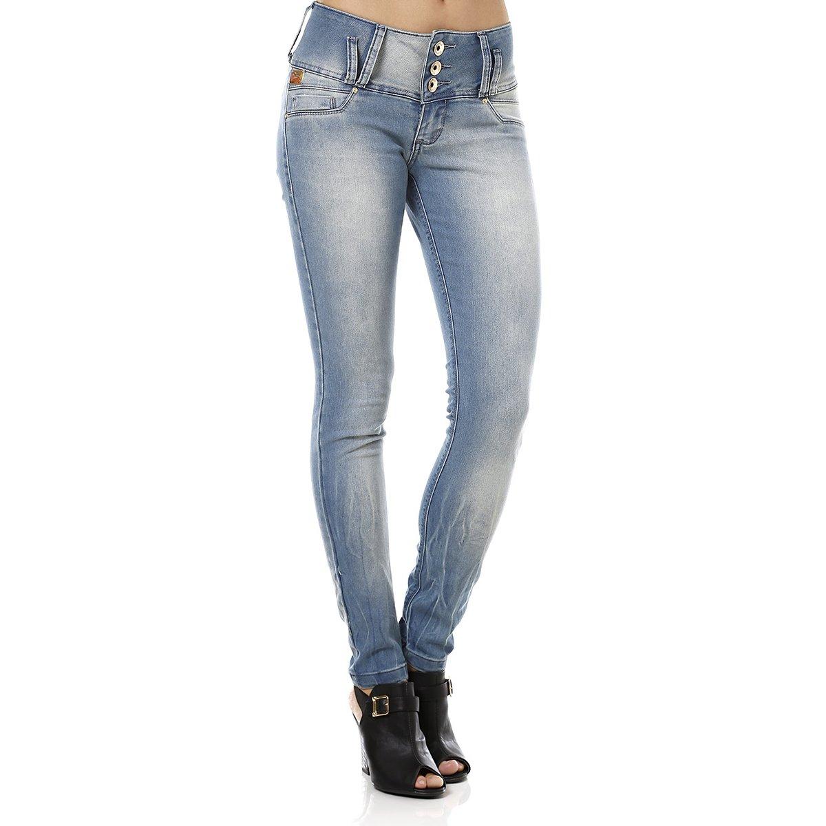 98a118be9 Calça Jeans Feminina Skinny Azul - Compre Agora