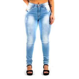 Calça Jeans Feminina Skinny Star Bee
