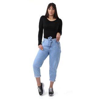 Calça jeans feminina slouchy - 267830 38