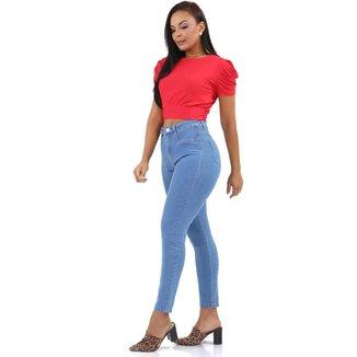 Calça jeans feminina super lipo - 267866 48