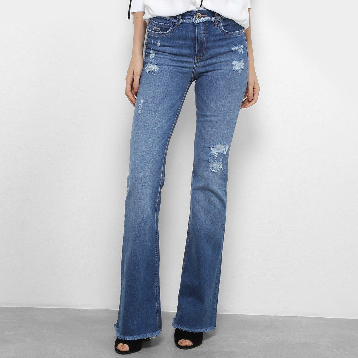5a46b96ad Calça Jeans Flare Colcci Cintura Média Feminina - Compre Agora | Netshoes