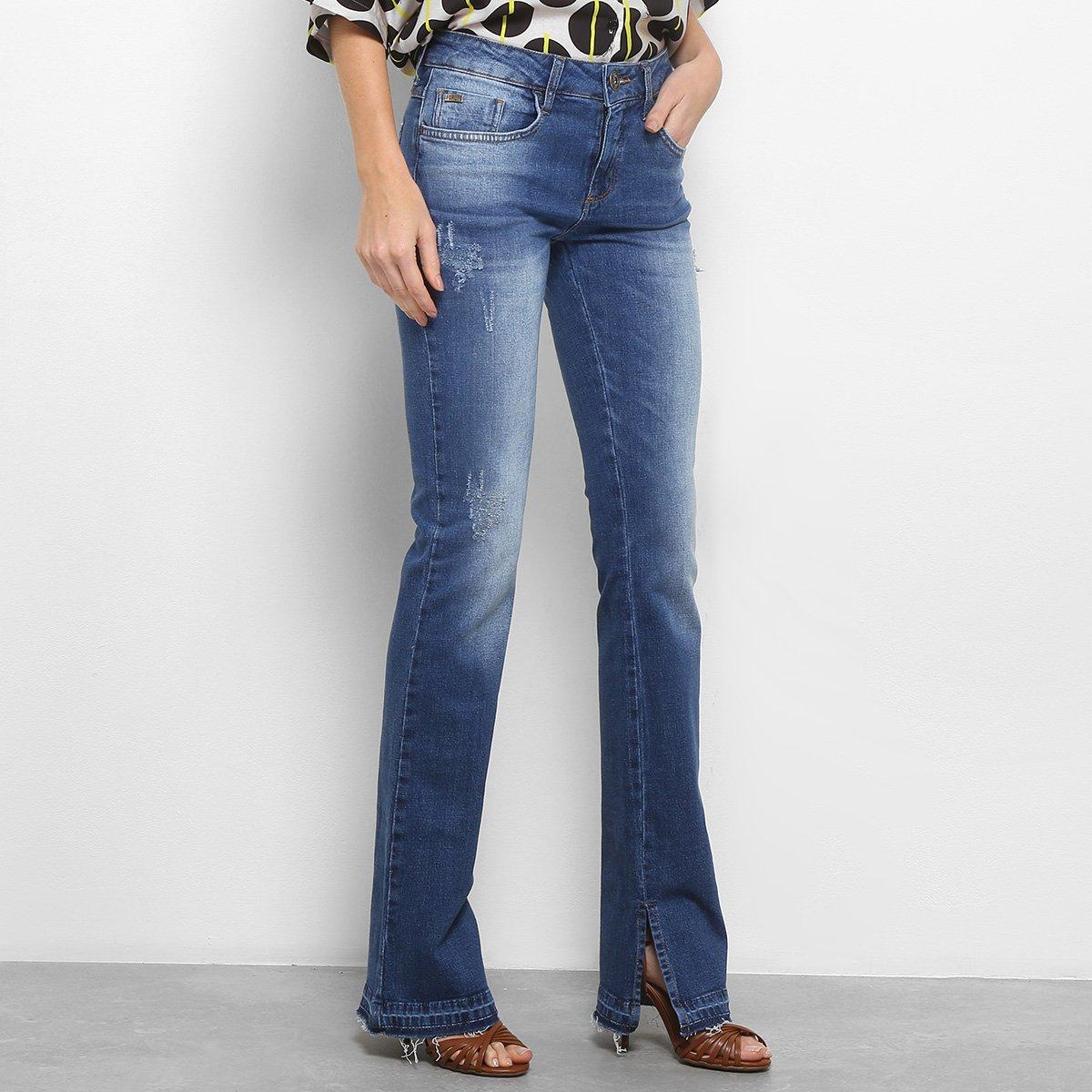 93f89e4a4 Calça Jeans Flare Forum Veronica Cintura Média Feminina - Jeans - Compre  Agora