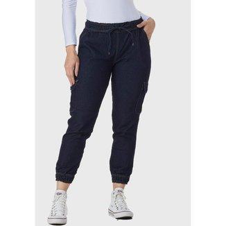 Calça Jeans HNO Jeans Mon Jogger Azul Escuro