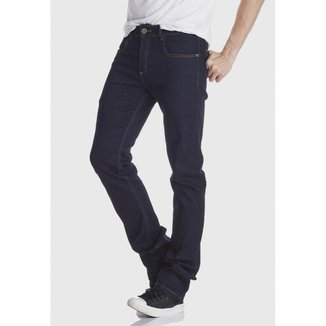 Calça Jeans HNO Jeans Reta Premium Plus Amaciada Azul