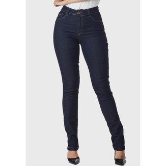 Calça Jeans HNO Jeans Skinny Classic com Elastano Azul Escuro