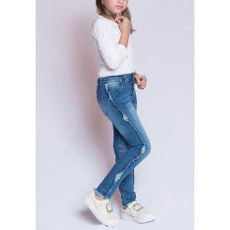 Calça Jeans Infantil MRX Feminina