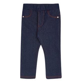 Calça Jeans Infantil Pulla Bulla Feminina
