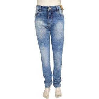 Calça Jeans Juvenil Oliver Slim Confort Masculina