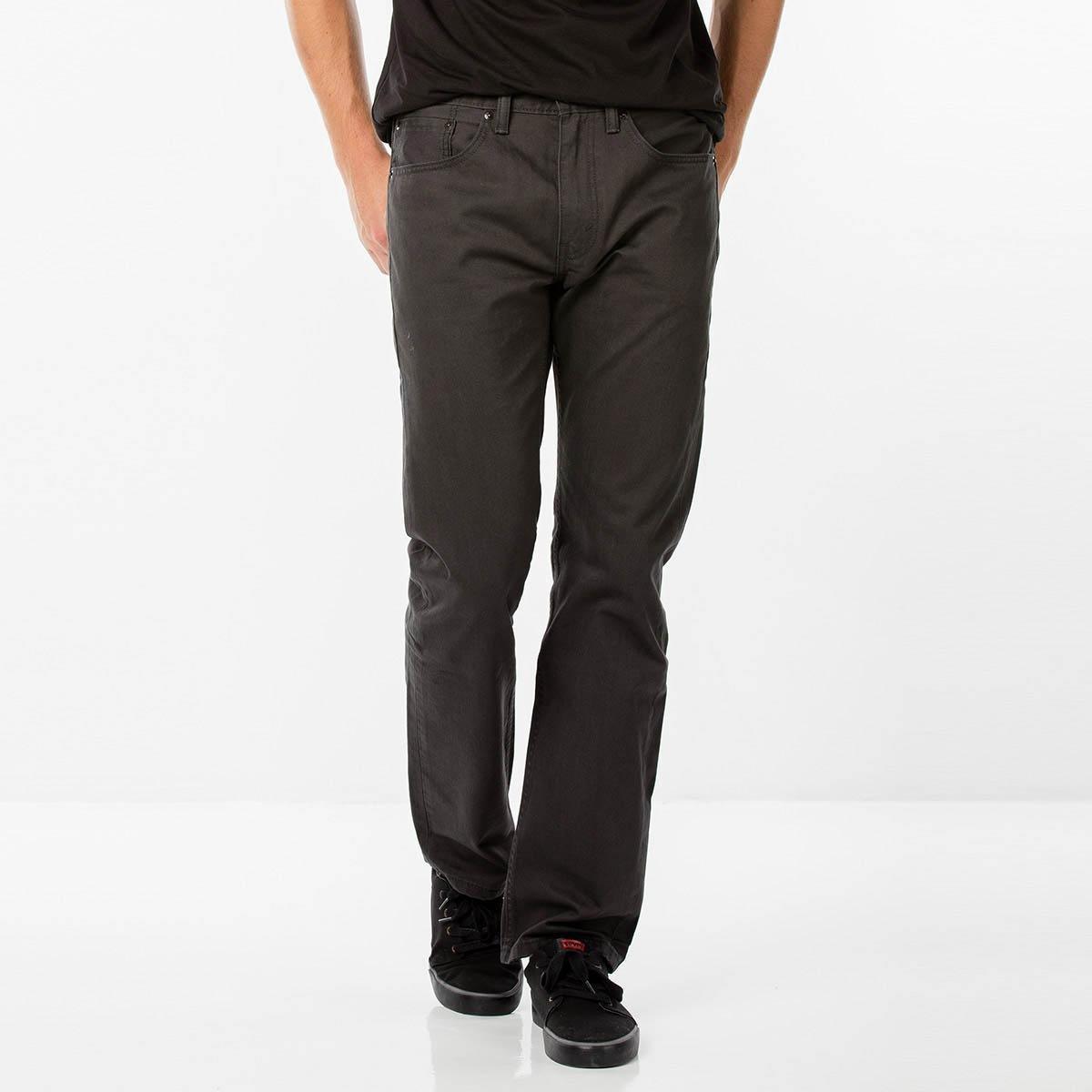 0cf22dca21745 Calça Jeans Levi s 505 Regular Masculina - Preto - Compre Agora ...