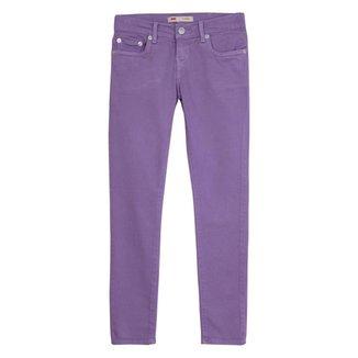 Calça Jeans Levis 711 Skinnny Infantil - 80008