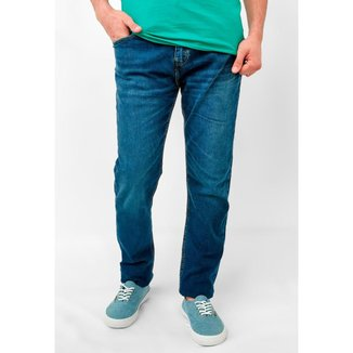 Calça Jeans Levi's Slim Azul Medio