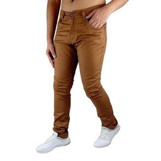 Calça jeans Masculina Elastano Skynni Slim