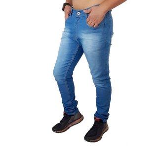 Calça jeans Masculina Medio Elastano Skynni Slim