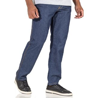 Calça Jeans Masculina Plus Size Para Trabalho Tradicional