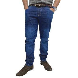 Calça Jeans Masculina Skynni Com Lycra