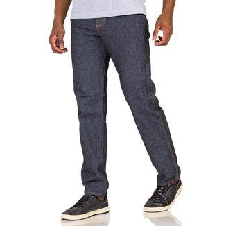 Calça Jeans Masculina Tradicional Para Trabalho Reforçada