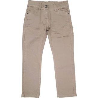 Calça Jeans Menino Algodão Ajuste Botão Conforto Dia a Dia