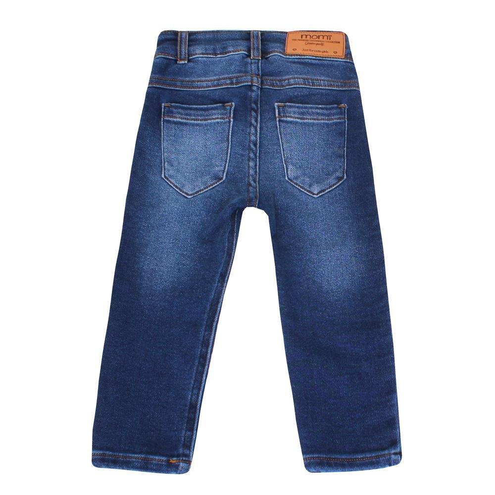 Momi Calça Calça Momi Azul Jeans Calça Momi Jeans Azul Moletinho Azul Moletinho Moletinho Jeans fAdFYxwYqz