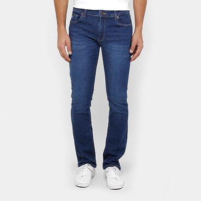 dee63168c8b98 Calça Jeans Reta Lacoste Straight Fit Stone Masculina - Jeans - Compre  Agora