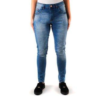 Calça Jeans Skinny Básica Feminina Play Dennim