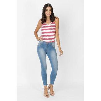 Calça Jeans Skinny Biotipo Estonada Azul
