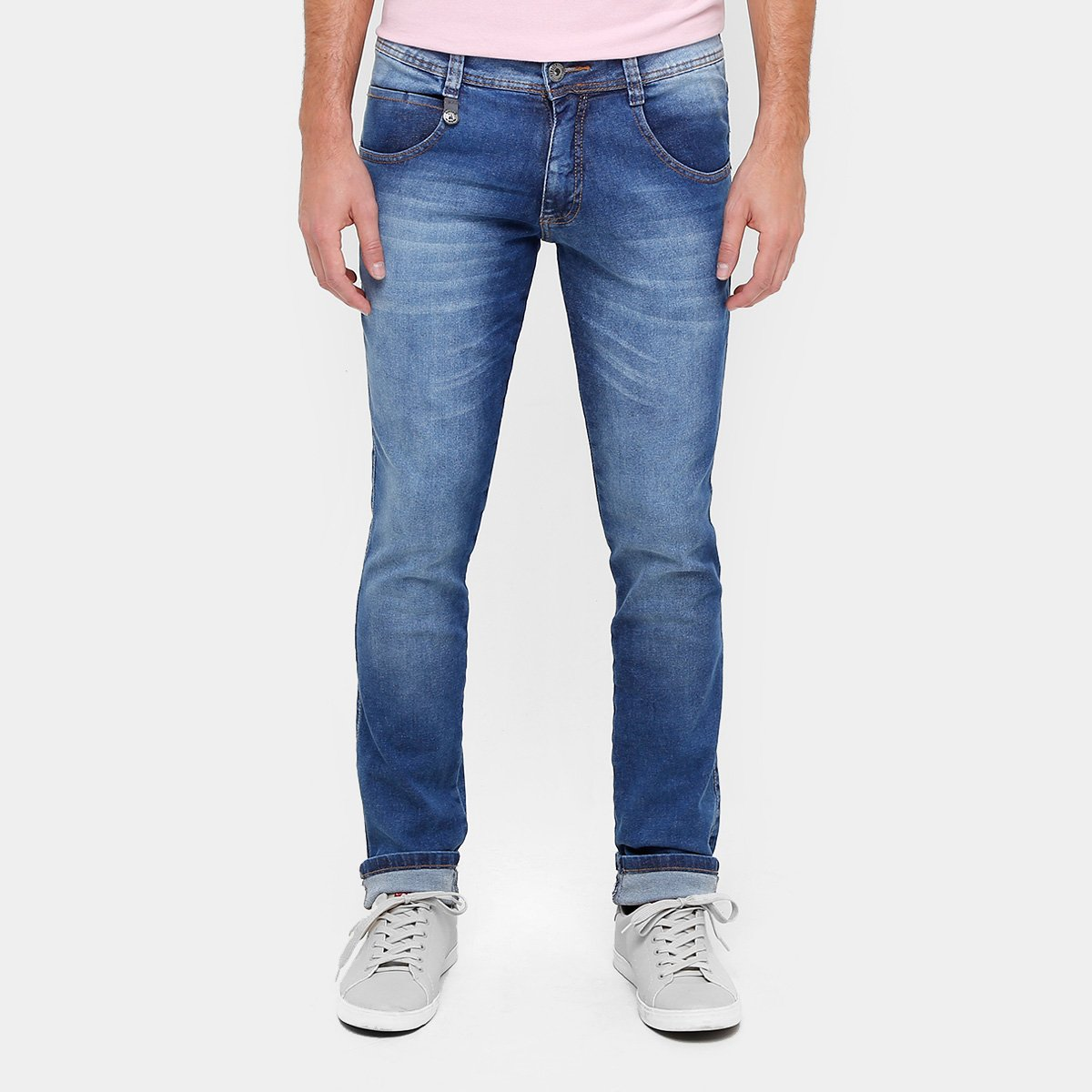 Calça Jeans Skinny Biotipo Estonada Elastano Masculino - Compre ... d7440a4520c