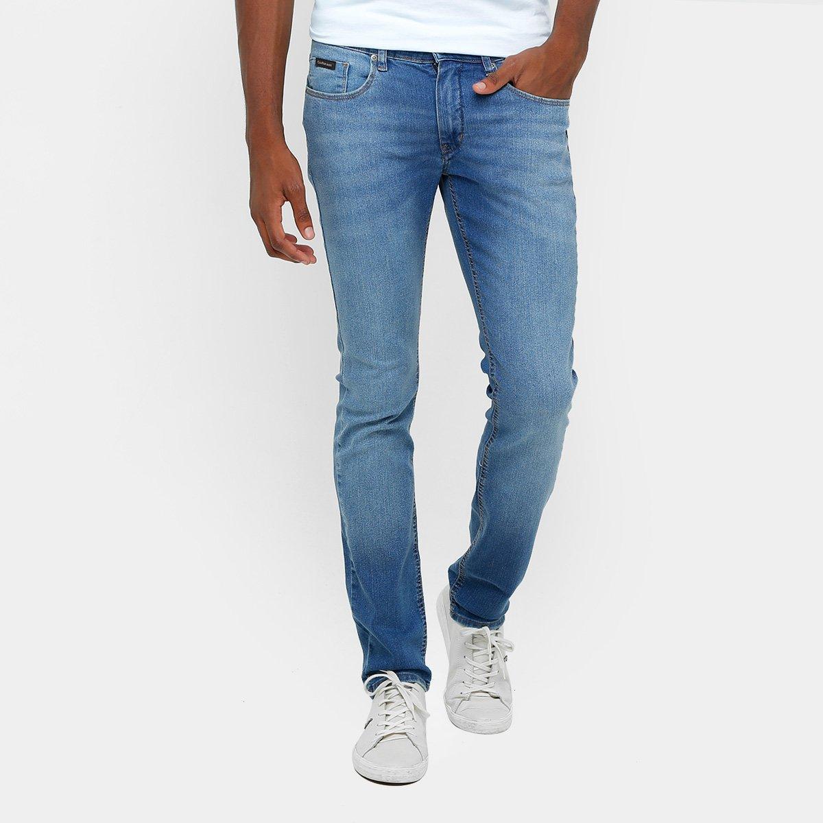 090f94709 Calça Jeans Skinny Calvin Klein Estonada Elastano Masculina | Netshoes