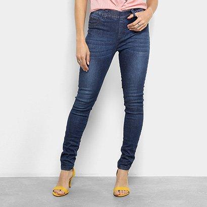 Calça Jeans Skinny Cantão Comfort Cintura Média Feminina