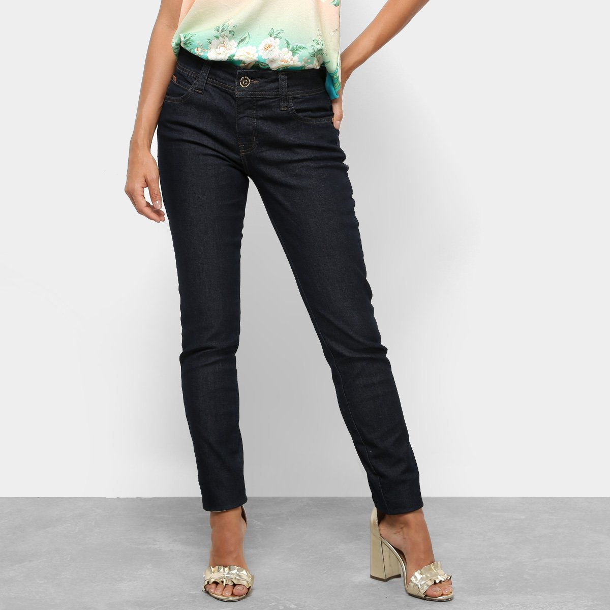275f5b075 Calça Jeans Skinny Colcci Fátima Lisa Feminina | Netshoes