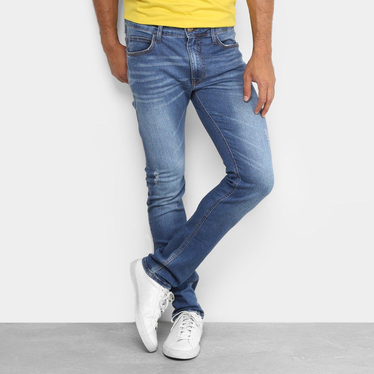 f501ebbfc Calça Jeans Skinny Colcci Felipe Puídos Masculina - Compre Agora | Netshoes