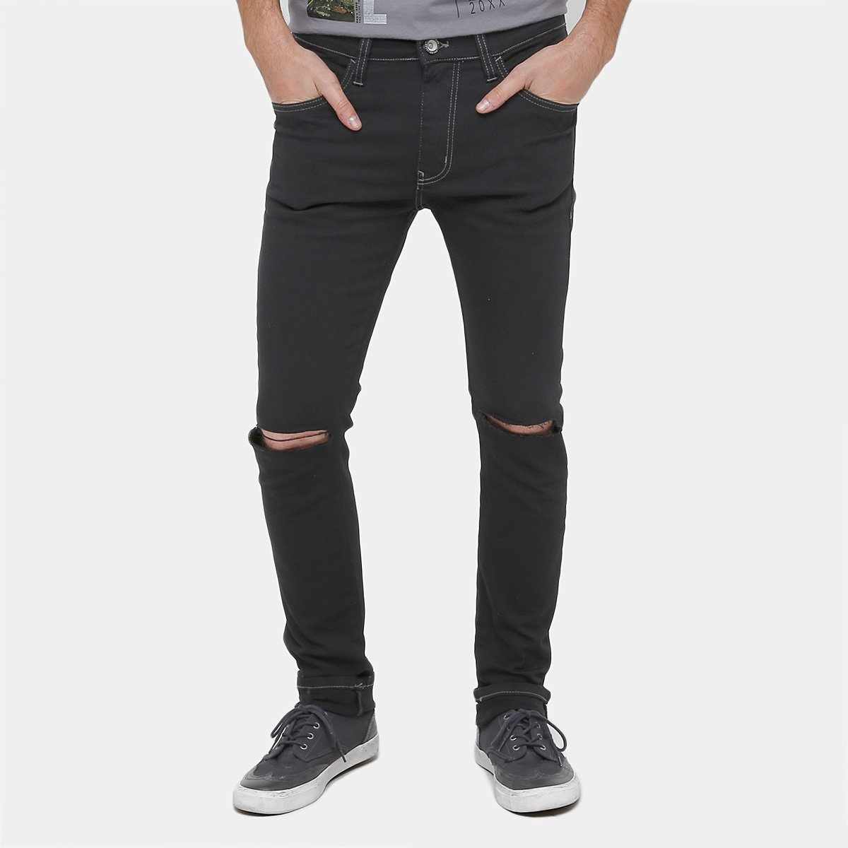3dd8cf010 Calça Jeans Skinny Colcci Sarja Felipe Rasgos Masculina - Compre Agora    Netshoes