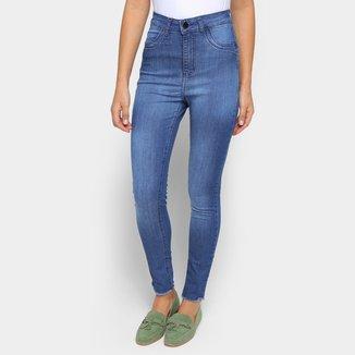 Calça Jeans Skinny Exco Cintura Alta Feminina