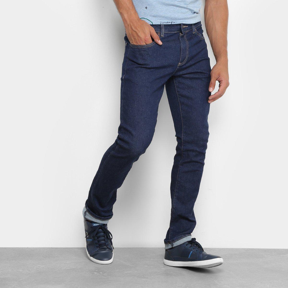 fbc8337d67c Calça Jeans Skinny Lacoste Lavagem Escura Masculina - Compre Agora ...