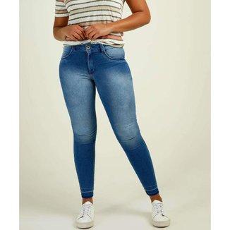 Calça Jeans  Skinny Stretch Biotipo Feminina