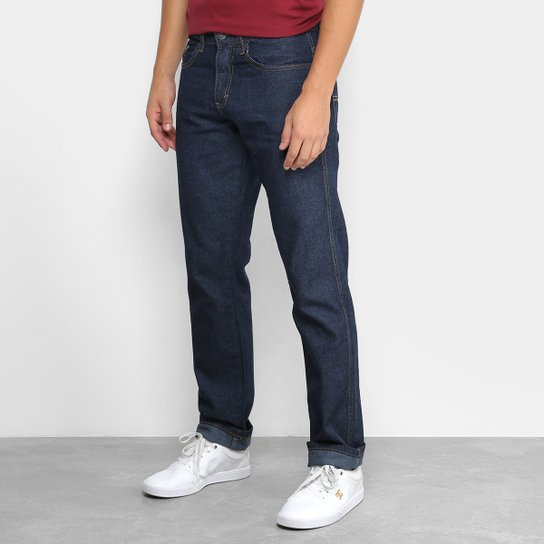 Calça Jeans Slim Dubai Street Masculina - Azul Escuro