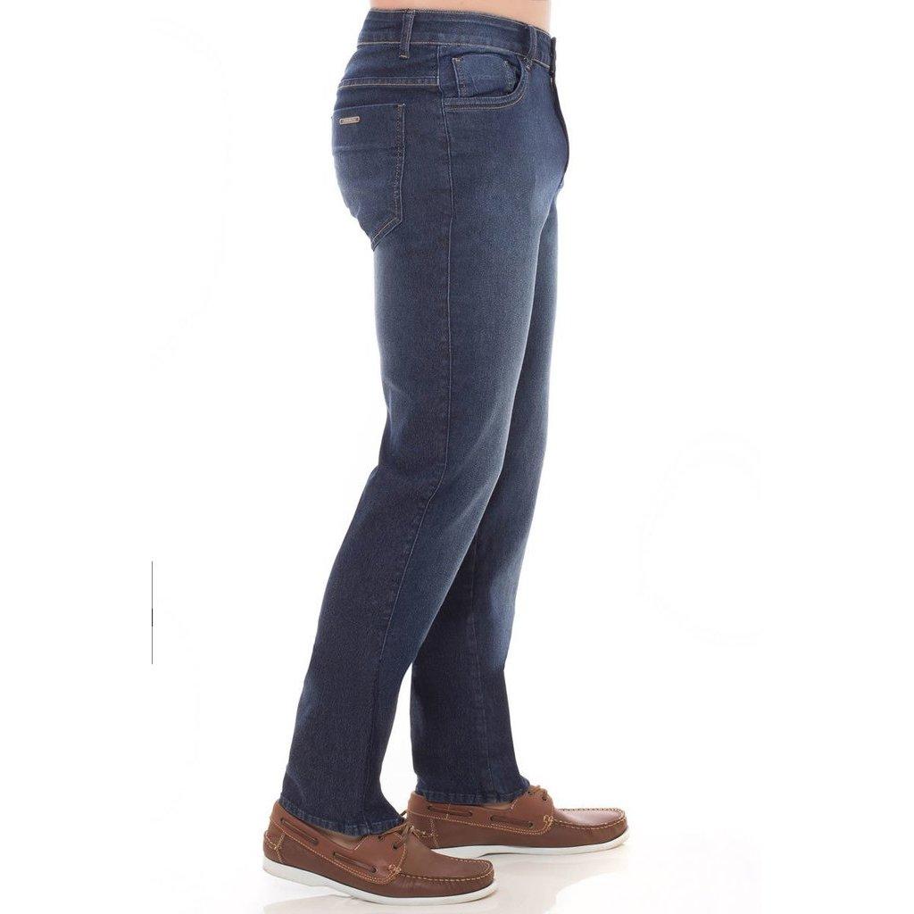 Fit Masculina Calça Slim Slim Jeans Azul Denúncia Azul Fit Calça Denúncia Masculina Calça Jeans 7qw4vr7