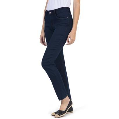 Calça Jeans Taco Straight Basic Stone Feminina - Feminino