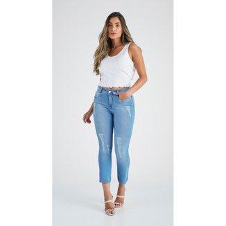 Calça Jeans Zait Skinny Cropped Mariel Feminina